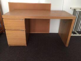 Beech Wood office desk