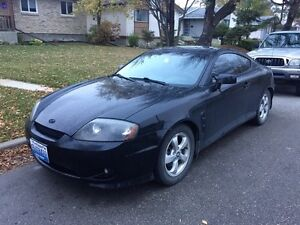 2005 Hyundai Tiburon SE Coupe (FRESH SAFETIED)