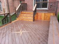 HOLY HOTDOG THAT'S A NICE DECK! SaltireCS fence & deck builder.