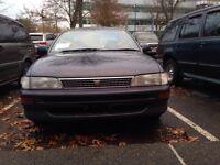 1994 Toyota Corolla RHD