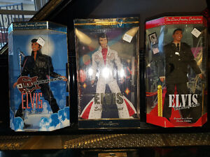 Collector Elvis Barbies -Mint in Box sold Together or Separately