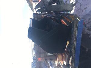 Cat backhoe front loader bucket