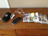 Psp with games.