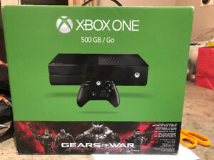BNIB XBOX One  500GB with access to Gears of War 4 Beta