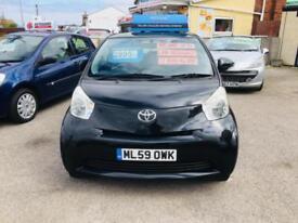 Toyota iQ 1.0 VVT-i 2011MY ( Cheap ) Free Road Tax Matellic Black