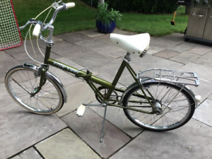 Raleigh Stow Away bicycle