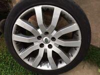 """Range Rover sport 20"""" genuine alloys"""