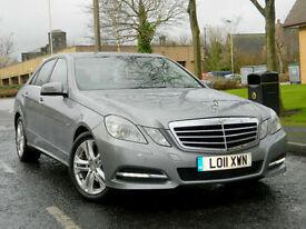 2011 11 Mercedes-Benz E Class 2.1 E250 CDI BlueEFFICIENCY Avantgarde 4dr AUTO