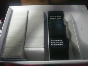 big box of cards against humanity cards