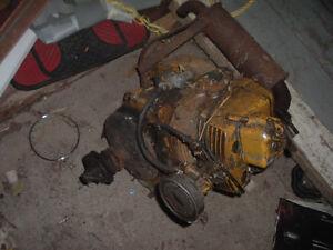 vieux moteur italen de motoneige antique ???