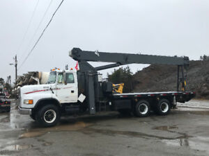 25 Ton National Boom Truck For Sale