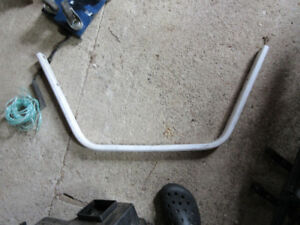 polaris 650 wedge chassis front bumper