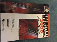 Essential elements 2000 for strings music book