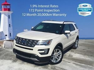 2016 Ford Explorer Limited   1.9% Interest Rates