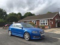 2007 Audi S3 Quattro Sonic Blue 3 door hatch r32 gti st rs civic type r turbo