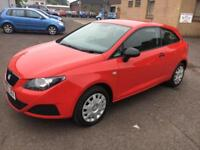 6010 Seat Ibiza 1.2 12v ( 70ps ) SportCoupe S Red 3 Door 36972mls