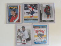 AARON EKBLAD ROOKIE HOCKEY CARD LOT