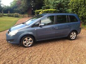 2008/08 Vauxhall/Opel Zafira 1.6 16v EXCLUSIVE Petrol - MPV 7 SEAT - BLUE