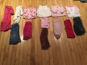 Girls 12 month lot