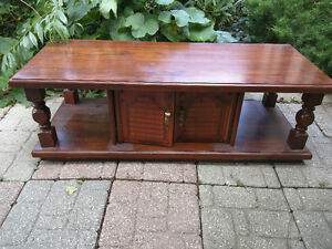 Vintage Wood Coffee Table Better than Ikea $40