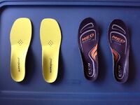 Super feet and ccm hockey insoles