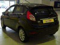 2017 Ford Fiesta 1.0 EcoBoost Titanium 5dr Powershift Petrol black Automatic