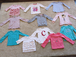 Size 5T Long-Sleeved Shirts for Girls