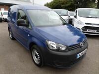 Volkswagen Caddy 1.6 Tdi 75Ps Startline Van DIESEL MANUAL BLUE (2014)