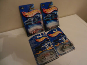 Hot Wheels Stars and Stripes Series Lot of 4 Mustang