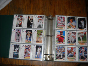 1991 Cartes Upper Deck Baseball Cards Collection