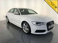 2014 64 AUDI A6 S LINE TDI ULTRA DIESEL 1 OWNER AUDI SERVICE HISTORY FINANCE PX