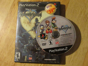 Sony Playstation 2 PS2 KINGDOM HEARTS Vintage Video Game