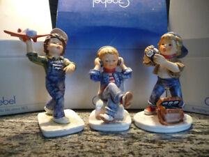 goebel collectible  Today's Children Set of 3