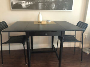 Table & 2 Chairs For Sale