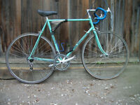 Vintage Biachi Road Race Bike with Complete Spares