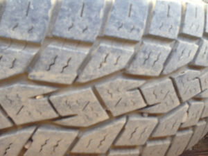 TIRES (SET + SPARE)