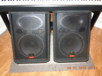 Very versatile Wharfdale Pro PA/ monitor speakers (pair