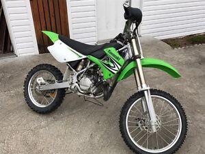 Kawasaki kx 100 2008