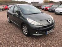 2009 09 PEUGEOT 207 1.4HDI MANUAL 5DOOR 94,500 MILES WARRANTED