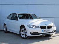 2012 BMW 3 SERIES 316d Sport Bluetooth 1 Owner GBP30 Tax Aircon