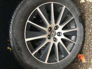 Summer tires only 26000 km of road wear
