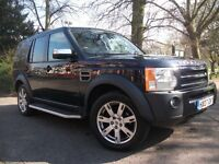 Land Rover Discovery 2.7 TDV6 SE 7 SEAT (blue) 2007