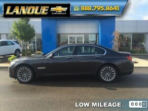 2012 BMW 7 Series 750i  Executive Pkg-BMW Rims  Snows