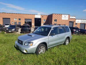 forester XT manual