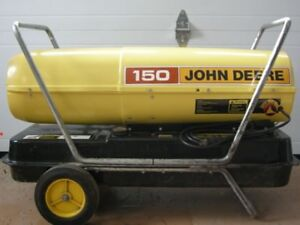 150,000 BTU John Deere Forced Air Torpedo Heater - Portable
