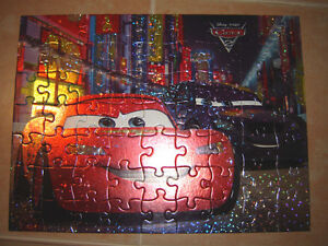 3 Cars Puzzles / Highlights Glow in the Dark Puzzles