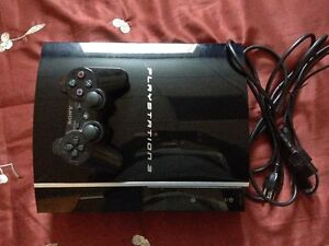 Console Play Station 3 + 20 jeux (1 Manettes)