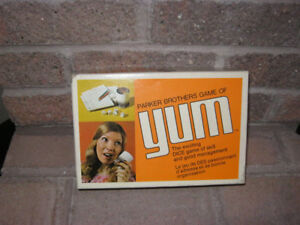 Vintage Parker Brothers Game of YUM