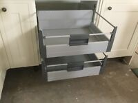 500 mm kitchen internal deep drawer boxes