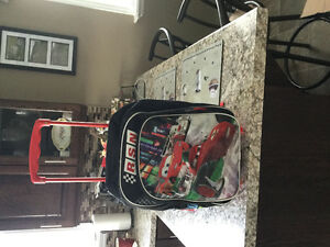 Cars luggage on wheels or back pack.in excellent condition
